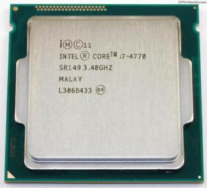 Intel Core i7-4770 Quad-Core Desktop CPU Processor