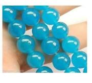 Natural Blue Topaz Beads