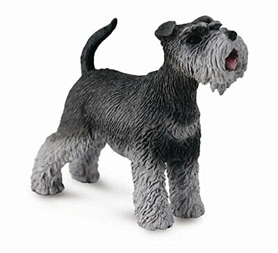 Breyer Horses Corral Pals Grey Schauzer Dog #88752