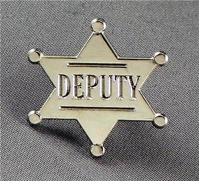 Sherriff Badge (Metal Enamel Pin Badge Brooch Deputy Sheriff Sherriff Law)