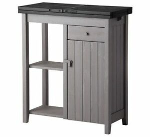 IKEA OLOFSTORP Storage Kitchen Island  with an extendable top