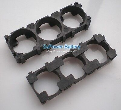 10pc Battery Spacer 3x 26650 Radiating Shell EV A123 Battery Plastic Heat Holder for sale  China