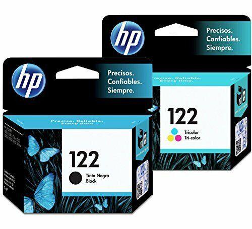 HP 122 Ink Cartridges Combo ( Black + TRI-COLOR ) Original Ink Cartridge Desk...