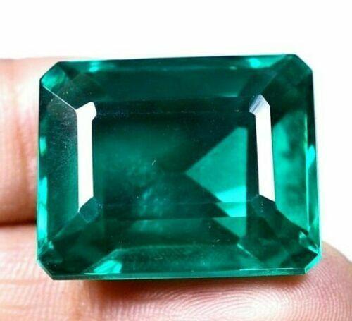 121.25 Ct Colombian Natural Green Emerald Emerald Cut Certified Loose Gem GO0301