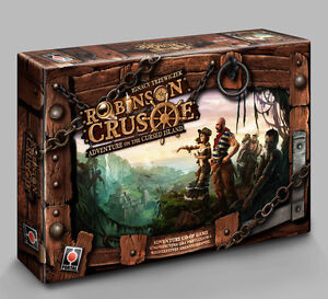 Robinson Crusoe: Adventures on the Cursed Island with expansion