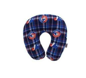MLB Travel Pillow Plaid - Montreal Expose Comfortable Neck Pillow