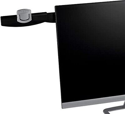 3m Monitor Mount Document Clip 30 Sheet Capacity Black Dh240mb
