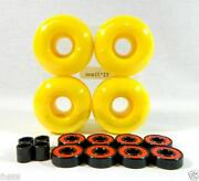 Yellow Skateboard Wheels