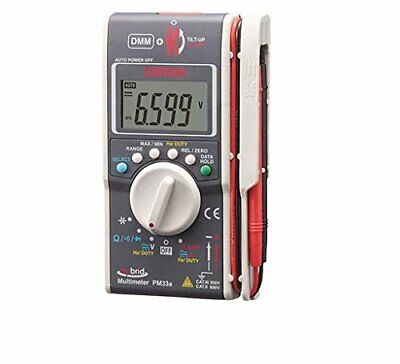 Sanwa With Hybrid Mini Tester Case Multimeter Clamp Meter Pm33ac