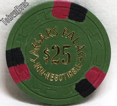 $25 DOLLAR GAMING POKER CHIP CAESARS PALACE CASINO LAS VEGAS 7th ISSUE 1980s NEW