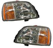 2000 Cadillac DeVille Headlights