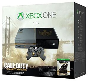xbox one call of duty edition with 9 games sell or trade!!