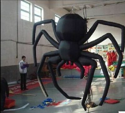 Giant Party Decoration Halloween Inflatable Hanging Spider for Sale 5m - Giant Inflatable Spider Halloween