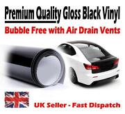 Gloss Black Vinyl Wrap