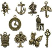 Mixed Bronze Charms