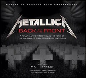 Metallica back to the front book