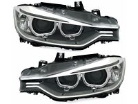 Left hand drive European type Angel eyes BMW F30 F31 Xenon D1S LED LHD For MOT TUV APK ITV