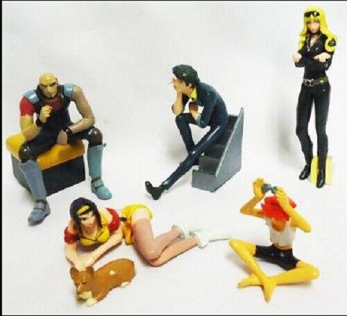 "⑩Bandai,HG,COWBOY BEBOP,""All 6Figures Complete set"",Mini Figure,Japan"