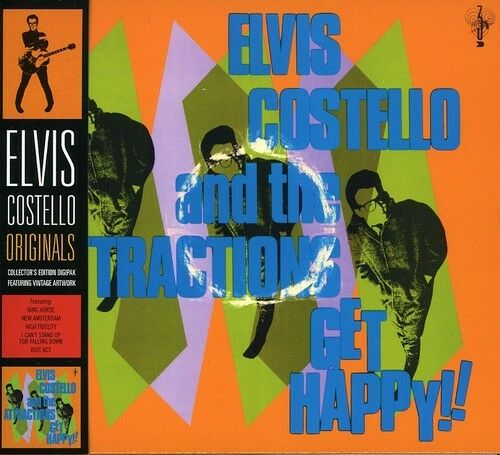 Elvis Costello - Get Happy [New CD] Digipack Packaging, Special Packaging