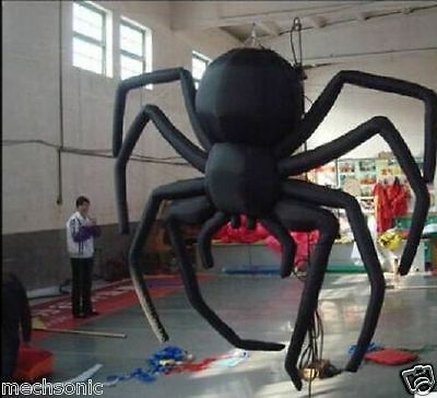 Giant Party Decoration Halloween Inflatable Hanging Spider for Sale 3m s - Giant Spider Decorations For Halloween