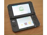 new 3dsxl black + 2 games