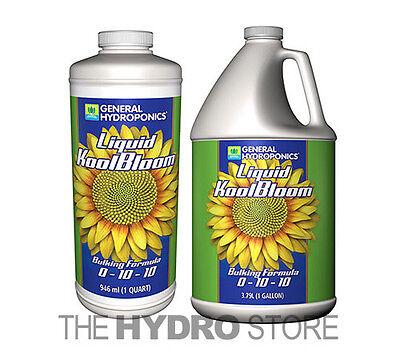 General Hydroponics Liquid Koolbloom 1 Quart   1 Gallon   2 5G  5G   Gh Nutrient