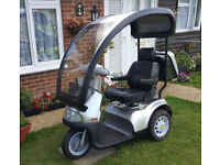 TGA Breeze S3 8mph Mobility Scooter + Hard Top Roof FREE DELIVERY WITHIN 50 MILES