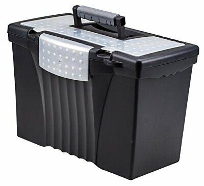 Storex Legal File Box With Organizer Lid Plastic Office File Storage Box