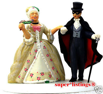Dept. 56 The Life Of The Party Couple dressed in Baroque Costumes CIC 58970 (Life Of The Party Costume)