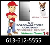 The ScreenMasters Company Mobile Screen Repairs 613-612-5555