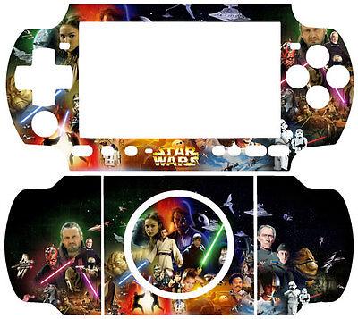 STAR WARS SKIN STICKER COVER for SONY PSP 3000 SLIM