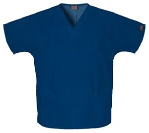 Cherokee-Workwear-Scrubs-4700-Scrub-Top-All-Colors-And-Sizes-New-With-Tags