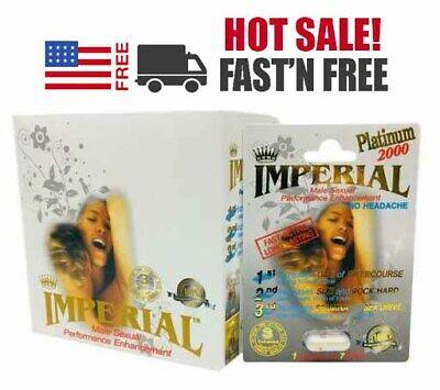 1x-48x Imperial Platinum 2000 Male Sexual Enhancement Supplement