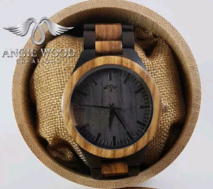 TRENDY NOW WOOD WATCH, WOODEN BOW TIE, WOODEN SUNGLASSES !!