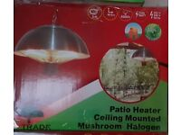 PATIO HEATER CEILING LIGHT