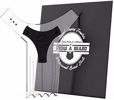 Beard Shaper Guide Template for Men's Care | All Size or Style 8 in 1 Beard (Men's Style Guide)