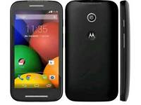 Motorola MOTO E - 4GB - Black. Locked to Tesco O2 Smartphone.
