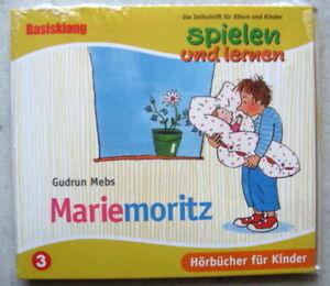 Mariemoritz Spielen und Lernen Hörbuch Edition CD, NEU