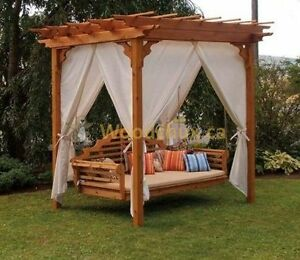 ♥‿♥ ...PERGOLA  DAY  BED / SWING  COMBO... ♥‿♥