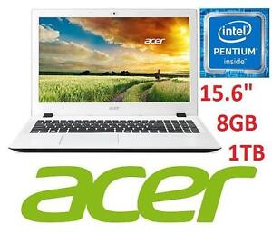 "REFURB ACER 15.6"" NOTEBOOK 8GB 1TB - 102293041 - N3700 WIN10 INTEL QUAD-CORE LAPTOP COMPUTER PC"