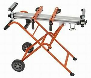 Portamate Portable 250 Lb Folding Miter Saw Stand On