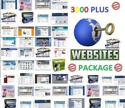 Best Deal 3000 Plus Turnkey Website Scripts Package