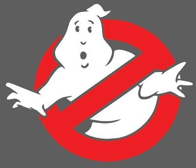 Ghost Busters Two Color Decal Window Bumper Sticker Car Decor Ghostbuster - Ghostbusters Decorations