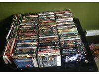 Huge dvd collection (over 140 films)