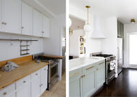 Modern and functional kitchen renovation with us
