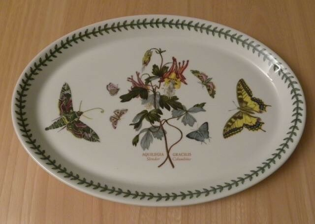 Portmeirion Botanic Garden Oval serving plate