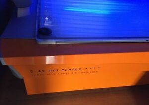 Tanning Bed! Soltron Hot Pepper Solarium Bed in excellent condition! Greenacre Bankstown Area Preview