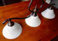 Hanging Light Fixture - Perfect Condition!