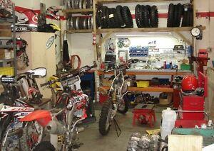 Dirt Bike Tune-Up Repair Inspection Fix Rebuild Service