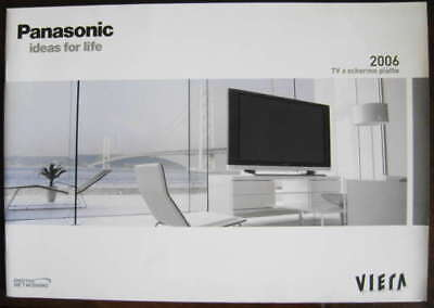 - Catalogo PANASONIC home 2006 dépliant brochure tv plasma lcd cinema home theatre